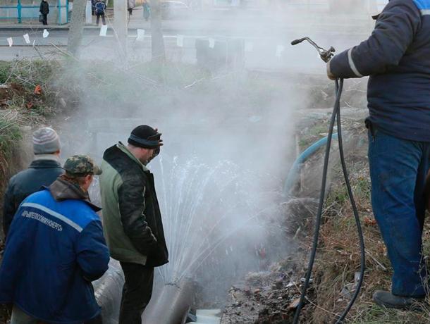 Авария на теплотрассе оставила санатории без тепла в Кисловодске