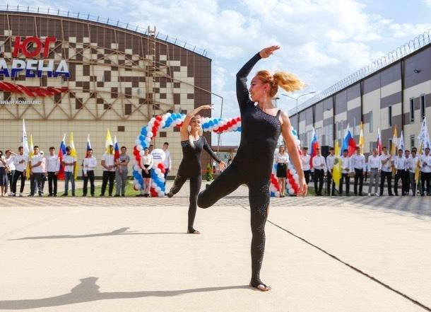 В Ставрополе состоялось открытие легкоатлетического манежа и «Юг-Арены»