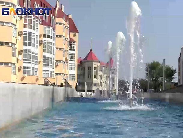 Фантастическая аллея фонтанов на Александровской площади превратится зимой в аллею ледяных скульптур
