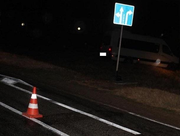 5 туристов попали в больницу после «вылета» экскурсионной маршрутки в кювет на Ставрополье