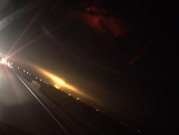 «Огненный смерч» усмотрели очевидцы в небе между Невинномысском и Пятигорском