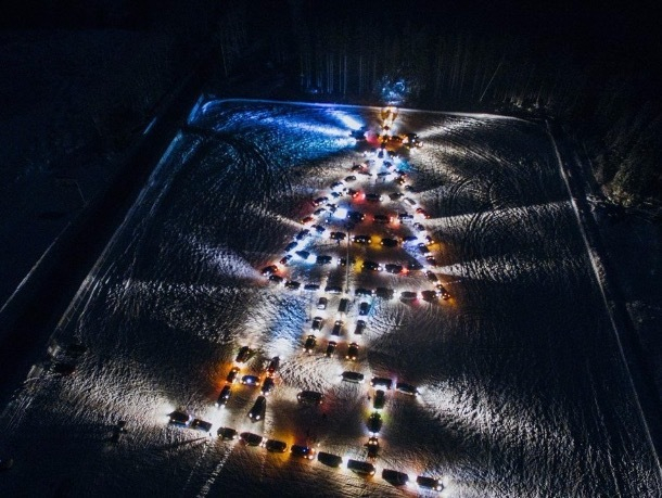 В Ставрополе соберут ёлку из 200 автомобилей