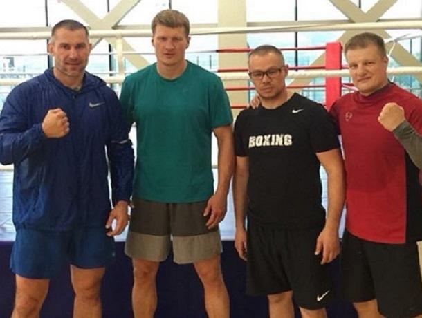 Боксер-профессионал Александр Поветкин готовится к главному бою в карьере на базе в Кисловодске