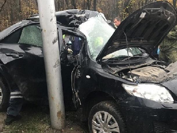 Шесть человек увезла «скорая» после страшного ДТП «Тойоты» и «Дэу» в Ставрополе
