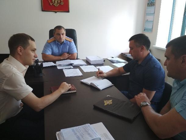 Между представителями правоохранительных служб Ставрополья прошла встреча
