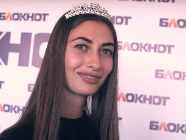 «Стать моделью можно только через постель», - победительница конкурса «Мисс Блокнот» Анастасия Долбня