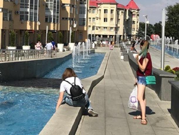 Жителям Ставрополя не хватает тени на Александровской площади