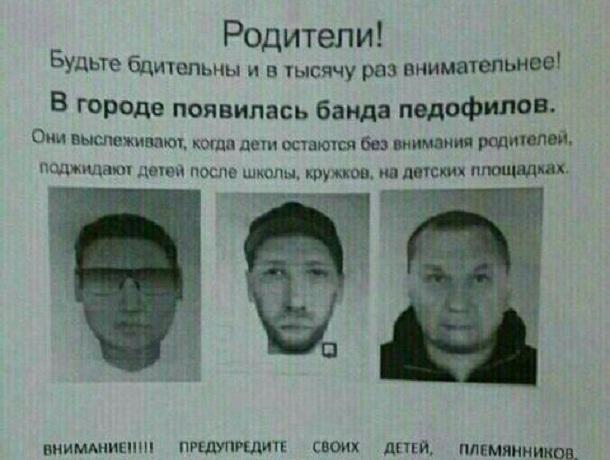 Сообщение об орудующей на Ставрополье банде педофилов оказалось фейком