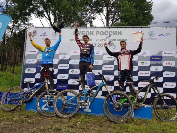 Бронзу на Кубке России по горному велоспорту выиграл ставропольчанин