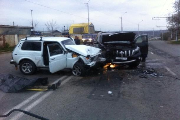 Пассажир «Нивы» погиб в ДТП в Ставрополе