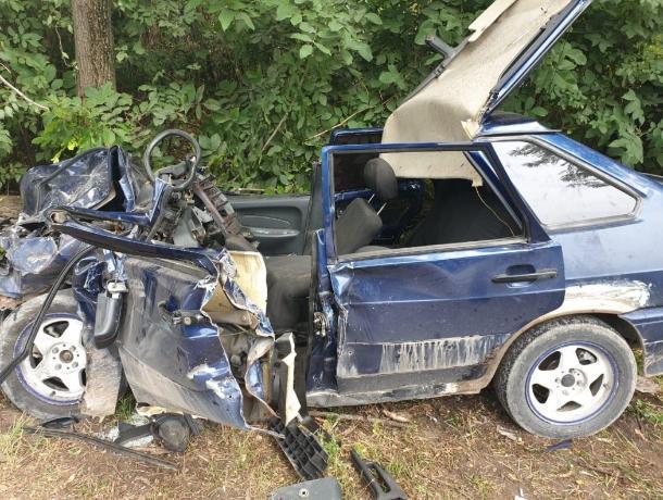 В аварии под Пятигорском пострадали пять человек