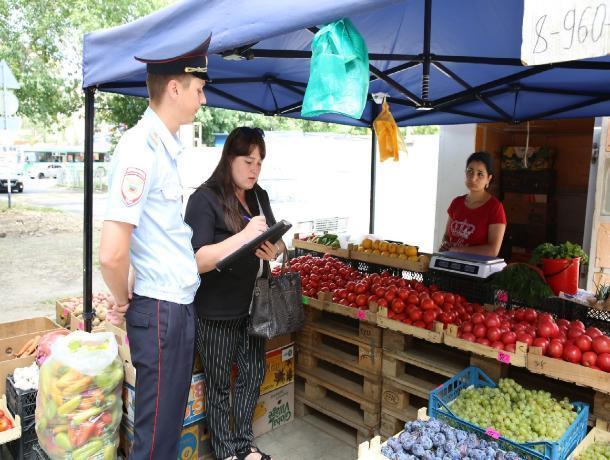 В Ставрополе проверяют уличных продавцов