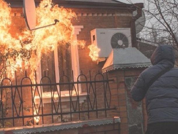 Обиженный мужчина поджёг дачный домик своей родственницы на Ставрополье