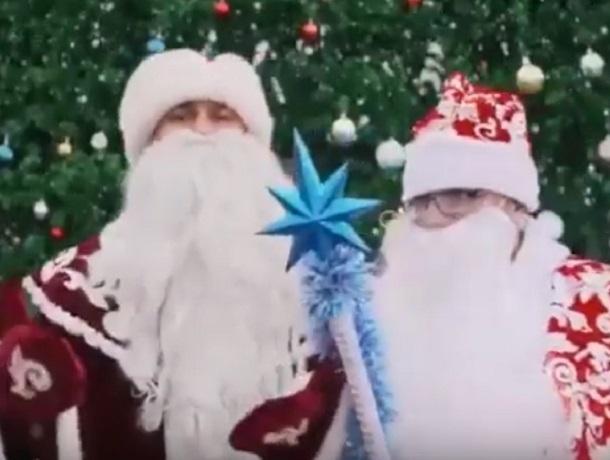 Креативное поздравление с Новым годом для ставропольцев снял на видео член ОНФ