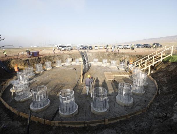 На Ставрополье начали строить самую большую в России ветроэлектростанцию