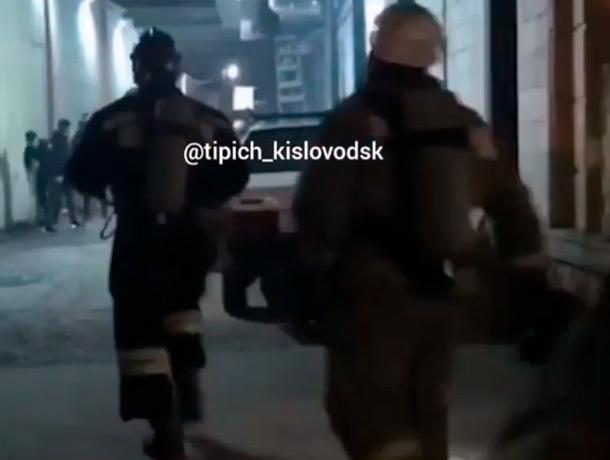 Короткое замыкание заставило эвакуировать людей из ресторана в Кисловодске
