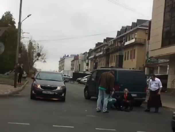 Минивэн сбил 14-летнего подростка на перекрестке в Ставрополе