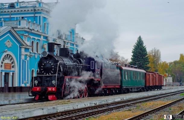 История развития железнодорожного транспорта в Ставрополе