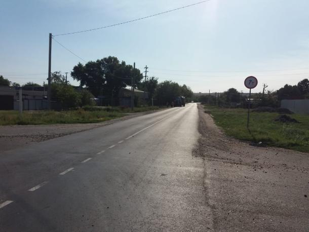 На Ставрополье отремонтировали одну из важных дорог села Прасковея