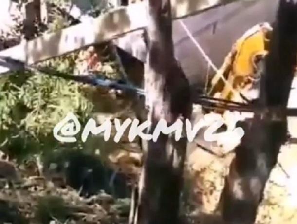Во время обвала горы в Кисловодске погиб строитель