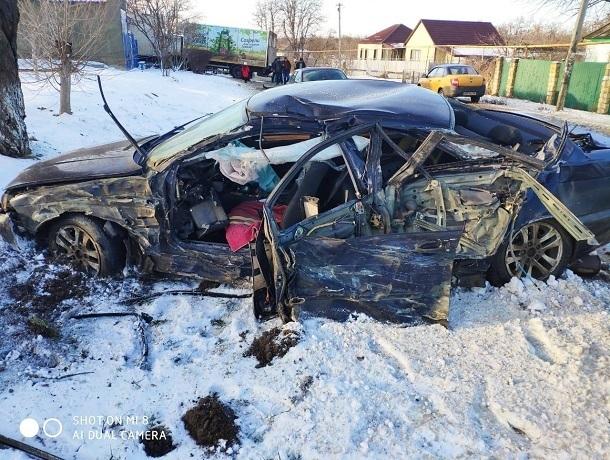 Двое детей пострадали в жестком тройном ДТП на Ставрополье