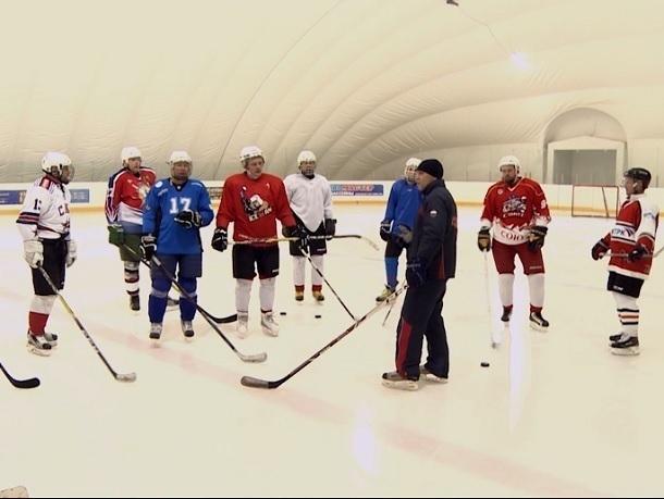 Хоккей в Ставрополе: как тренируются будущие Овечкины и Малкины