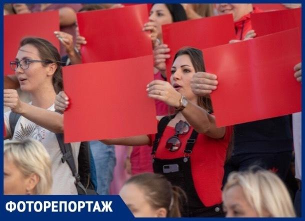 В Ставрополе масштабно и ярко отметили День флага России