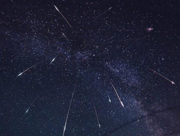 22 апреля ставропольчане смогут увидеть первый весенний звездопад