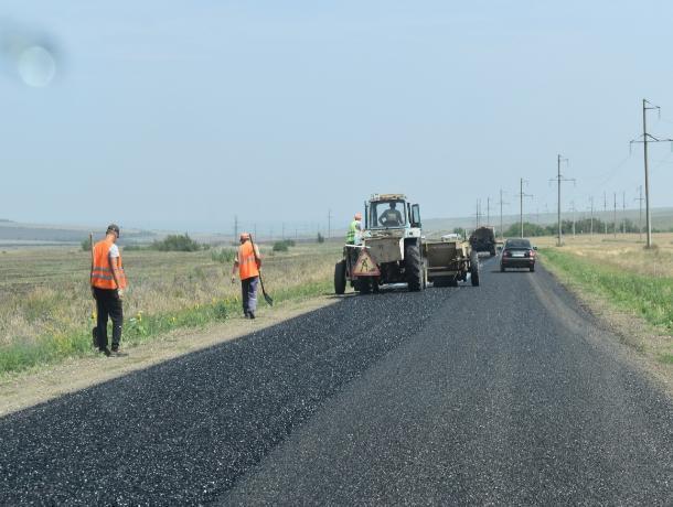 В Андроповском районе отремонтировали две важные дороги