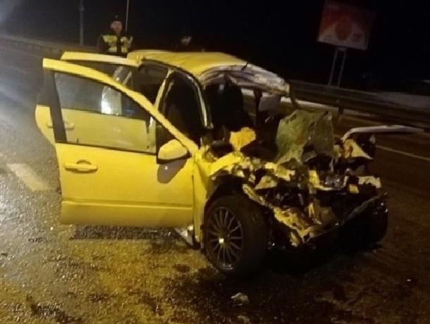 Два человека погибли в страшной аварии на Ставрополье, - очевидцы