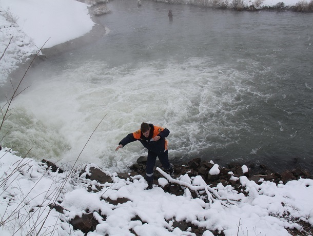 Рыбакам рекомендуют неторопиться выходить налед для ловли наСтаврополье