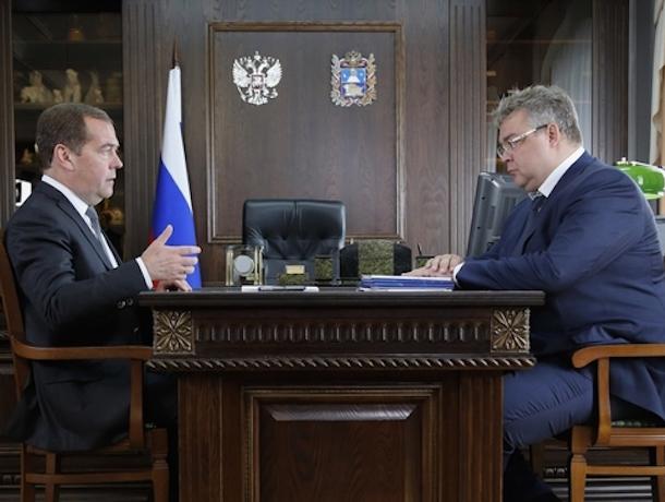 Политолог уверен, что поездка Медведева на Ставрополье важна в первую очередь премьеру, а не губернатору