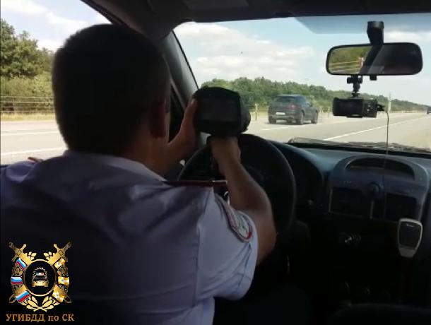 В Ставропольском крае началось массовое лишение водительских прав