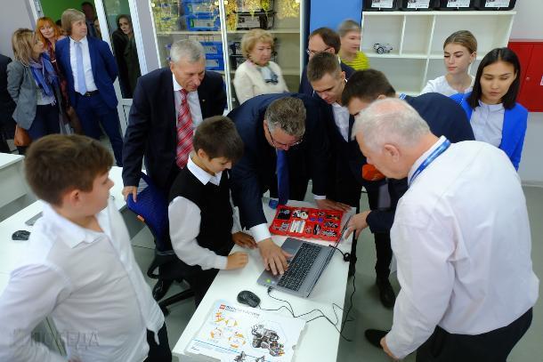 В Михайловске открылся центр цифрового образования для школьников-технарей