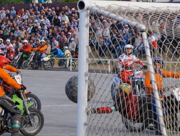 Ставропольские мотоболисты стали «серебряными» призерами первенства России