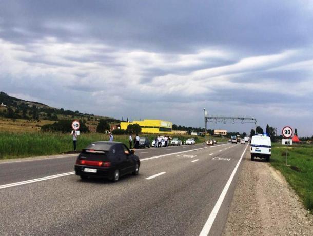 На Ставрополье водитель сбил пешехода и скрылся с места ДТП