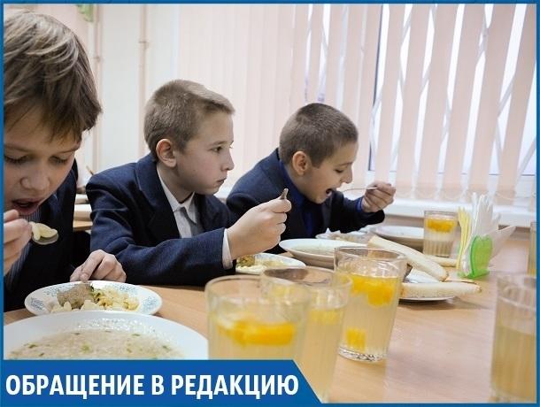 «Почему многодетные семьи платят за школьный обед, как все?», - жительница Ставрополья
