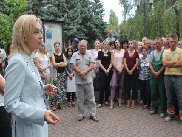 Ольга Тимофеева провела восемь встреч в Ставрополе