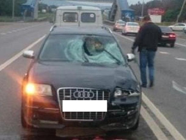 Пенсионер на черной «Ауди 6» сбил насмерть двоих пешеходов на Ставрополье