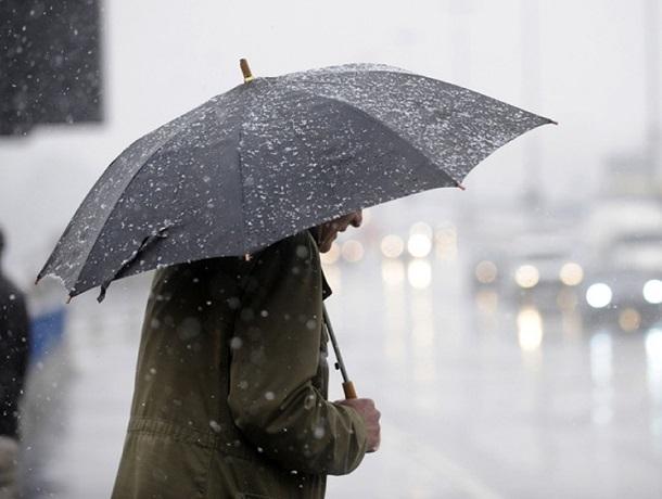 Дождь и лютый ветер ждут ставропольцев в среду