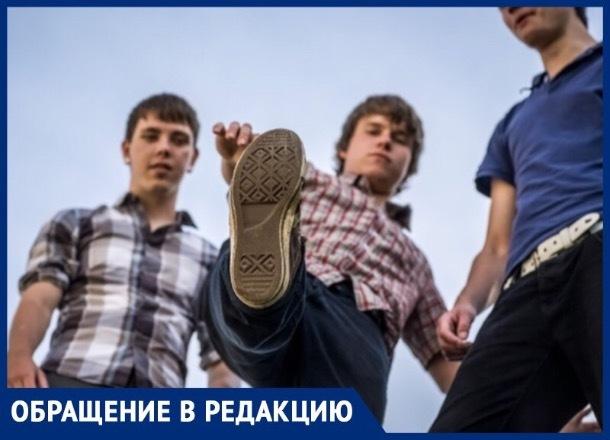 Жительница Ставрополя возмущена хамским поведением подростков