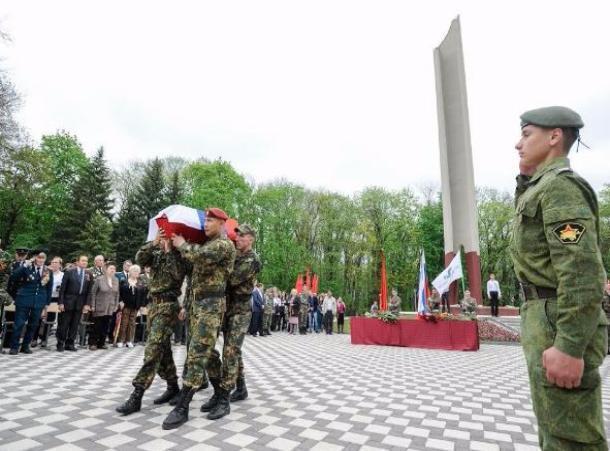 ВЕссентуках захоронили останки погибшего под Псковом красноармейца