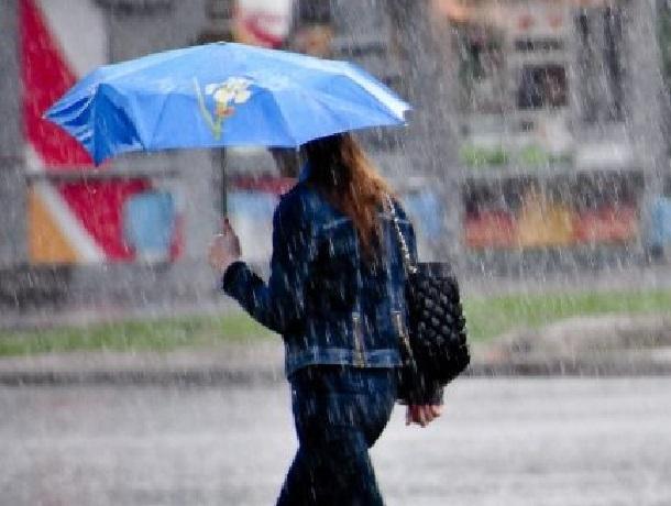 Дождь с утра и до самого вечера ждет ставропольцев в субботу