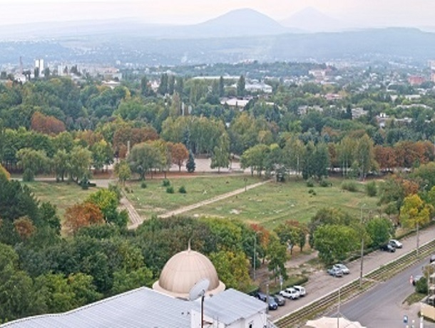 Масштабное благоустройство ждет Комсомольский парк Пятигорска