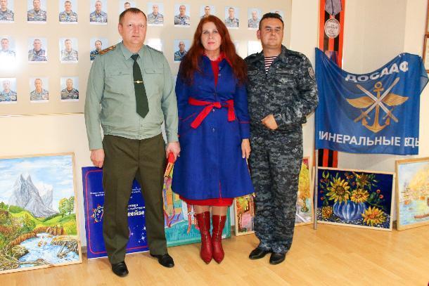 Благодаря фестивалю Росгвардии юные художники представили свои картины в Ставрополе