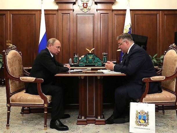 «Иводичка хорошая»: глава Ставрополья попросил Путина включить курорты в нацпроект по экспорту