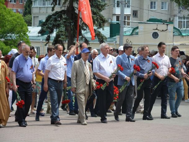 В День памяти и скорби прошла акция «Горсть памяти» в Ставрополе