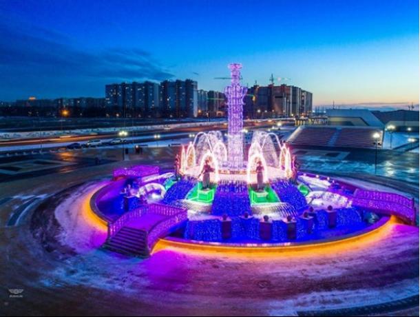В Ставрополе фонтаны перешли на зимний режим работы