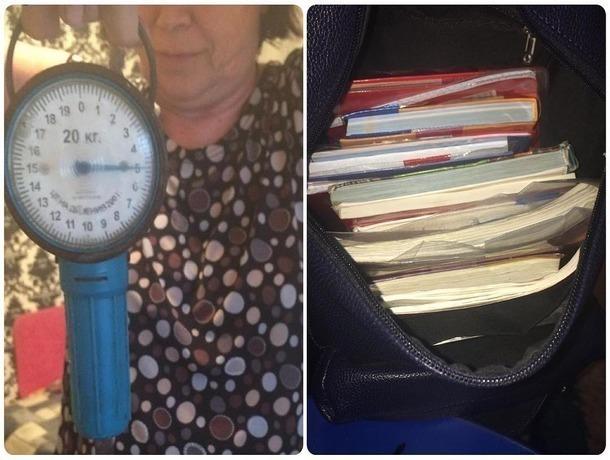 Пять килограммов учебников заставляют таскать в портфелях школьников на Ставрополье