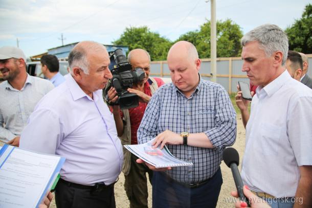 На Ставрополье строится детский сад и реконструируется школа